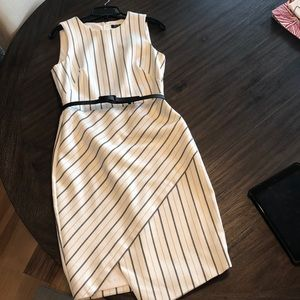 WHBM asymmetrical dress EUC